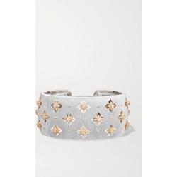 Buccellati - Macri Giglio 18-karat White And Yellow Gold Diamond Cuff - White gold found on Bargain Bro Philippines from NET-A-PORTER for $35500.00