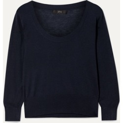J.Crew - Tencel-blend Sweater - Navy