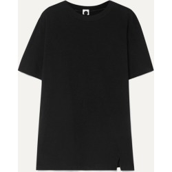 Bassike - Organic Cotton-jersey T-shirt - Black found on MODAPINS from NET-A-PORTER for USD $66.50