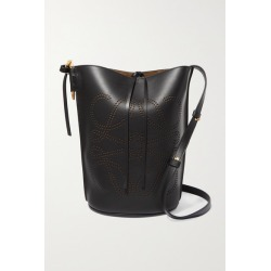 Loewe - Gate Perforated Leather Bucket Bag - Black found on Bargain Bro UK from NET-A-PORTER UK
