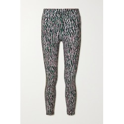 THE UPSIDE - Camouflage-print Stretch Leggings - Green found on Bargain Bro from NET-A-PORTER for USD $91.20
