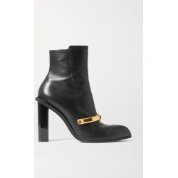 Alexander McQueen - Embellished Leather Ankle Boots - Black found on MODAPINS from NET-A-PORTER UK for USD $548.92