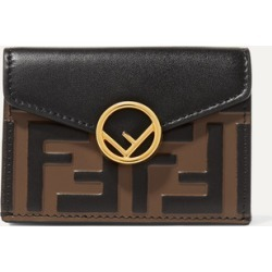 Fendi - Embellished Embossed Leather Wallet - Black found on Bargain Bro Philippines from NET-A-PORTER for $550.00