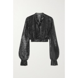 Paco Rabanne - Cropped Chainmail Top - Black found on MODAPINS from NET-A-PORTER UK for USD $2793.00