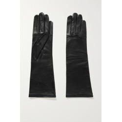 Agnelle - Celia Leather Gloves - Black found on MODAPINS from NET-A-PORTER UK for USD $156.56
