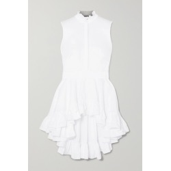 Alexander McQueen - Ruffled Cotton-poplin Top - White found on MODAPINS from NET-A-PORTER UK for USD $1504.38
