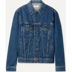 RE/DONE - 90s Denim Jacket - Mid denim found on Bargain Bro India from NET-A-PORTER for $395.00