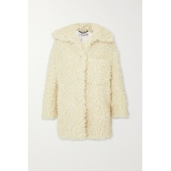 Stella McCartney - Oversized Faux Shearling Coat - Cream found on Bargain Bro UK from NET-A-PORTER UK