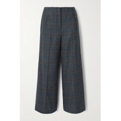 Veronica Beard - Dova Prince Of Wales Checked Wool Straight-leg Pants - Gray found on Bargain Bro UK from NET-A-PORTER UK