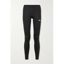 REEBOK X VICTORIA BECKHAM - Printed Stretch Leggings - Black found on Bargain Bro from NET-A-PORTER for USD $98.80