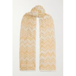 Missoni - Metallic Crochet-knit Scarf - Gold found on Bargain Bro UK from NET-A-PORTER UK