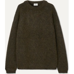 Acne Studios - Oversized Knitted Sweater - Army green found on Bargain Bro UK from NET-A-PORTER UK