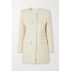 SAINT LAURENT - Wool-blend Tweed Coat - Off-white found on Bargain Bro UK from NET-A-PORTER UK