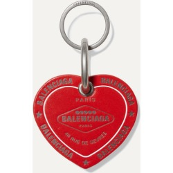 Balenciaga - Casino Printed Leather Keychain - Red found on Bargain Bro Philippines from NET-A-PORTER for $192.50