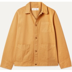 Alex Mill - Herringbone Cotton Jacket - Yellow found on MODAPINS from NET-A-PORTER for USD $100.80