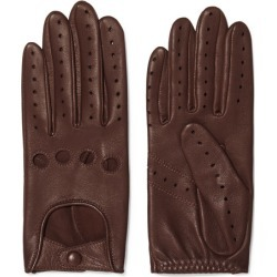 Agnelle - Faye Leather Gloves - Tan found on MODAPINS from NET-A-PORTER UK for USD $116.13