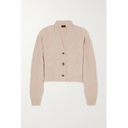 Magda Butrym - Cable-knit Cashmere Cardigan - Beige found on MODAPINS from NET-A-PORTER UK for USD $1508.82