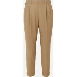 Nili Lotan - Montana Wool-blend Tapered Pants - Beige found on Bargain Bro UK from NET-A-PORTER UK