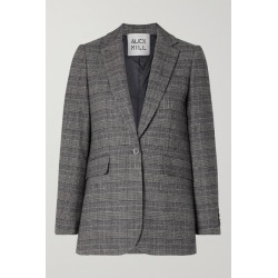 Alex Mill - Ryder Prince Of Wales Checked Woven Blazer - Black found on MODAPINS from NET-A-PORTER for USD $270.00