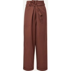 LE 17 SEPTEMBRE - Wool-twill Tapered Pants - Chocolate found on Bargain Bro UK from NET-A-PORTER UK
