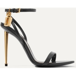 TOM FORD - Padlock Leather Sandals - Black found on Bargain Bro India from NET-A-PORTER for $1090.00