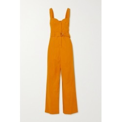 A.L.C. - A.l.c. X Petra Flannery Cyprus Belted Linen-blend Jumpsuit - Marigold found on Bargain Bro UK from NET-A-PORTER UK