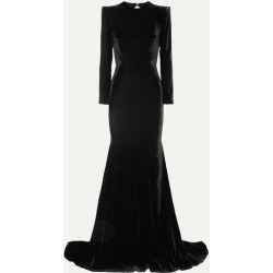 Alex Perry - Cutout Velvet Gown - Black found on MODAPINS from NET-A-PORTER UK for USD $2309.70