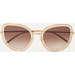 Dolce & Gabbana - Cat-eye Gold-tone Sunglasses - one size found on Bargain Bro UK from NET-A-PORTER UK