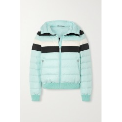 PERFECT MOMENT - Queenie Padded Striped Ski Jacket - Blue found on Bargain Bro from NET-A-PORTER for USD $418.00