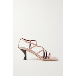 STAUD - Gita Leather Sandals - Beige found on MODAPINS from NET-A-PORTER UK for USD $329.02