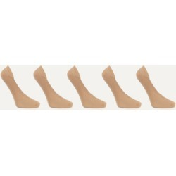 FALKE - Cotton Step Set Of Five Knitted Socks - Neutral