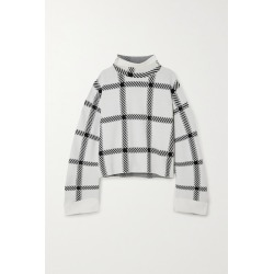 Stella McCartney - + Net Sustain Checked Stretch-knit Top - White found on Bargain Bro UK from NET-A-PORTER UK