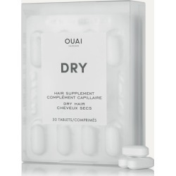 OUAI Haircare - Dry Hair Supplement (30 Capsules) - Colorless