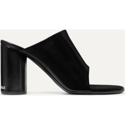 Balenciaga - Leather Mules - Black found on MODAPINS from NET-A-PORTER UK for USD $676.33