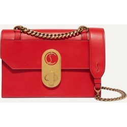 Christian Louboutin - Elisa Small Leather Shoulder Bag - Red found on MODAPINS from NET-A-PORTER UK for USD $2174.66