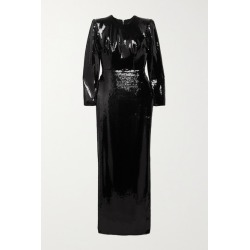 Alex Perry - Hutton Sequined Satin Gown - Black found on MODAPINS from NET-A-PORTER UK for USD $1801.04