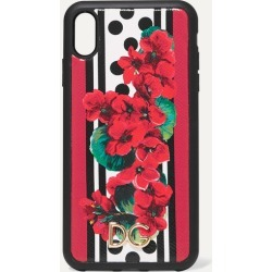Dolce & Gabbana - Printed Textured-leather Iphone Xs Max Case - one size