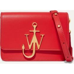 JW Anderson - Logo Mini Leather Shoulder Bag - Red found on Bargain Bro UK from NET-A-PORTER UK