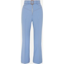 Ellery - Supervision Free Belted Cropped Flared Pants - Blue found on Bargain Bro UK from NET-A-PORTER UK