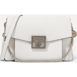 Givenchy - Gv3 Small Textured-leather Shoulder Bag - White found on Bargain Bro UK from NET-A-PORTER UK