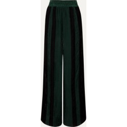 Golden Goose - Sophie Striped Corduroy Wide-leg Pants - Green found on Bargain Bro UK from NET-A-PORTER UK