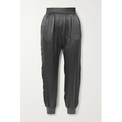 Cami NYC - The Sadie Silk-charmeuse Track Pants - Gray found on Bargain Bro Philippines from NET-A-PORTER for $240.00