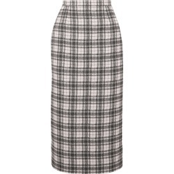 Antonio Berardi - Checked Tweed Pencil Skirt - White found on MODAPINS from NET-A-PORTER for USD $875.00