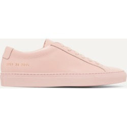 Common Projects - Original Achilles Leather Sneakers - Pink found on MODAPINS from NET-A-PORTER for USD $415.00