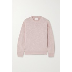 Bassike - Linen And Cotton-blend Sweater - Pink found on MODAPINS from NET-A-PORTER for USD $340.00