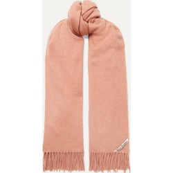 Acne Studios - Canada Fringed Cashmere Scarf - Blush found on Bargain Bro UK from NET-A-PORTER UK