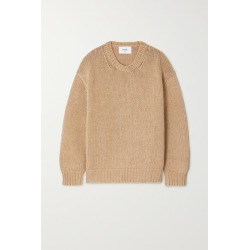 Bassike - Cotton And Merino Wool-blend Sweater - Tan found on MODAPINS from NET-A-PORTER for USD $192.00