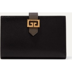 Givenchy - Gv3 Medium Smooth And Textured-leather Wallet - Black found on Bargain Bro Philippines from NET-A-PORTER for $630.00