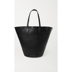 Khaite - Circle Medium Leather Tote - Black found on MODAPINS from NET-A-PORTER UK for USD $2000.96