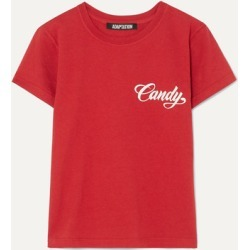Adaptation - Baby Printed Cotton-jersey T-shirt - Red found on MODAPINS from NET-A-PORTER for USD $185.00